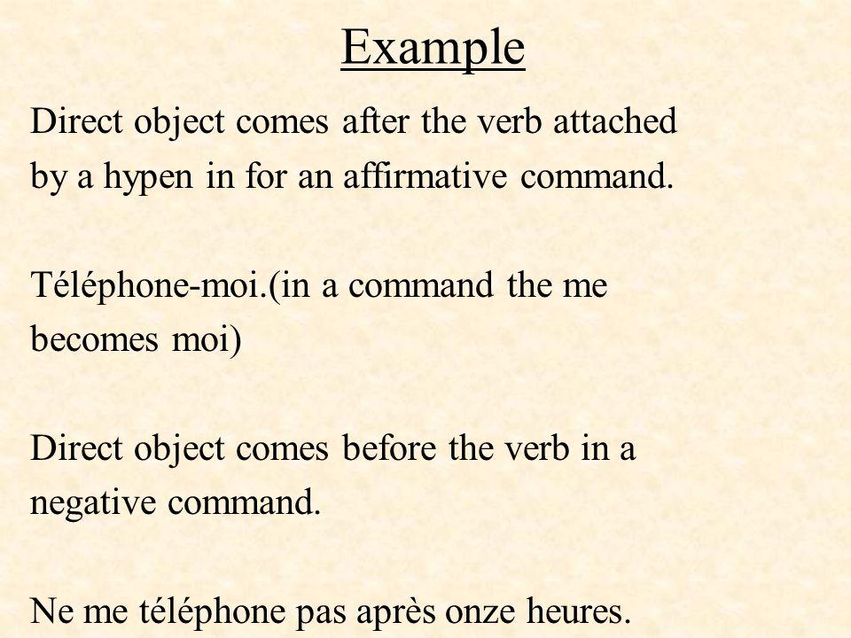 When not to use EN If de + noun represents a person, do not use en.