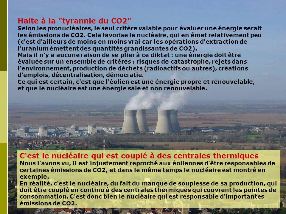 Halte à la tyrannie du CO2 Selon les pronucléaires, le seul critère valable pour évaluer une énergie serait les émissions de CO2.
