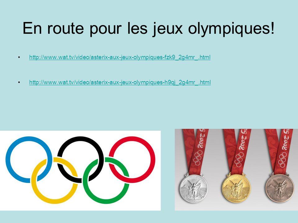 En route pour les jeux olympiques! http://www.wat.tv/video/asterix-aux-jeux-olympiques-fzk9_2g4mr_.html http://www.wat.tv/video/asterix-aux-jeux-olymp
