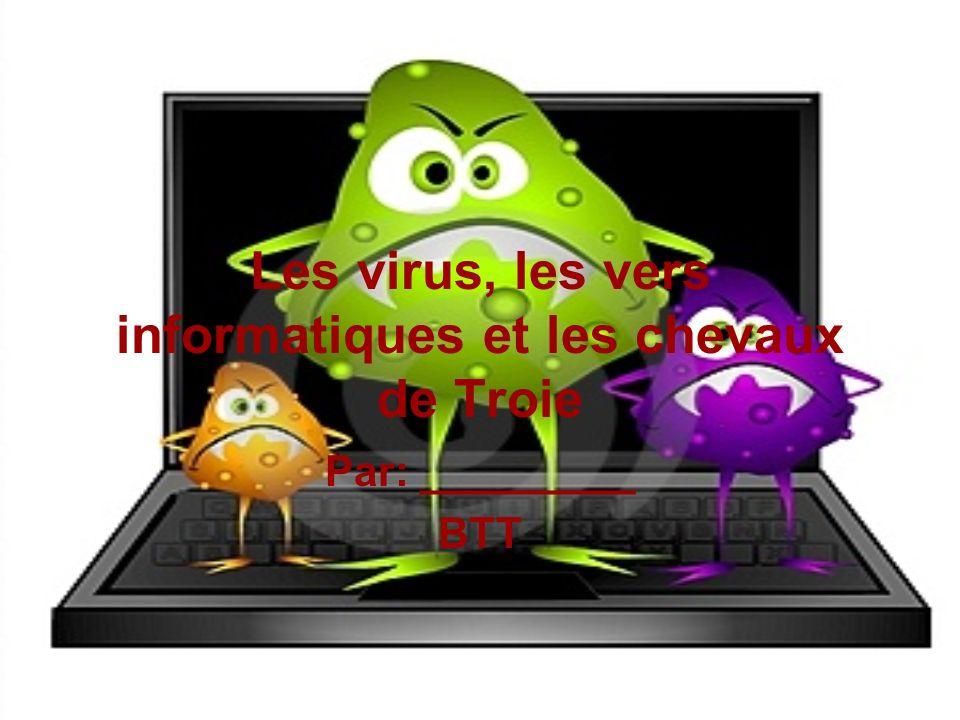 Quest ce quun virus? Les virus sont des infections dordinateur