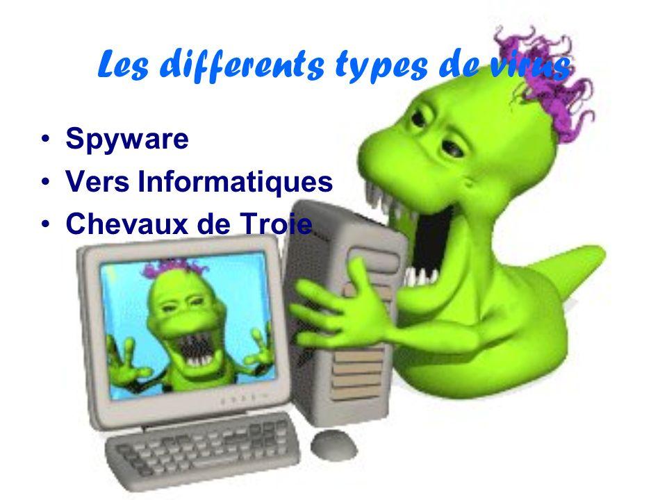DANGERS Les virus peuvent dupliqué dans ton ordinateur et forcé lordinateur davoir un panne informatique.