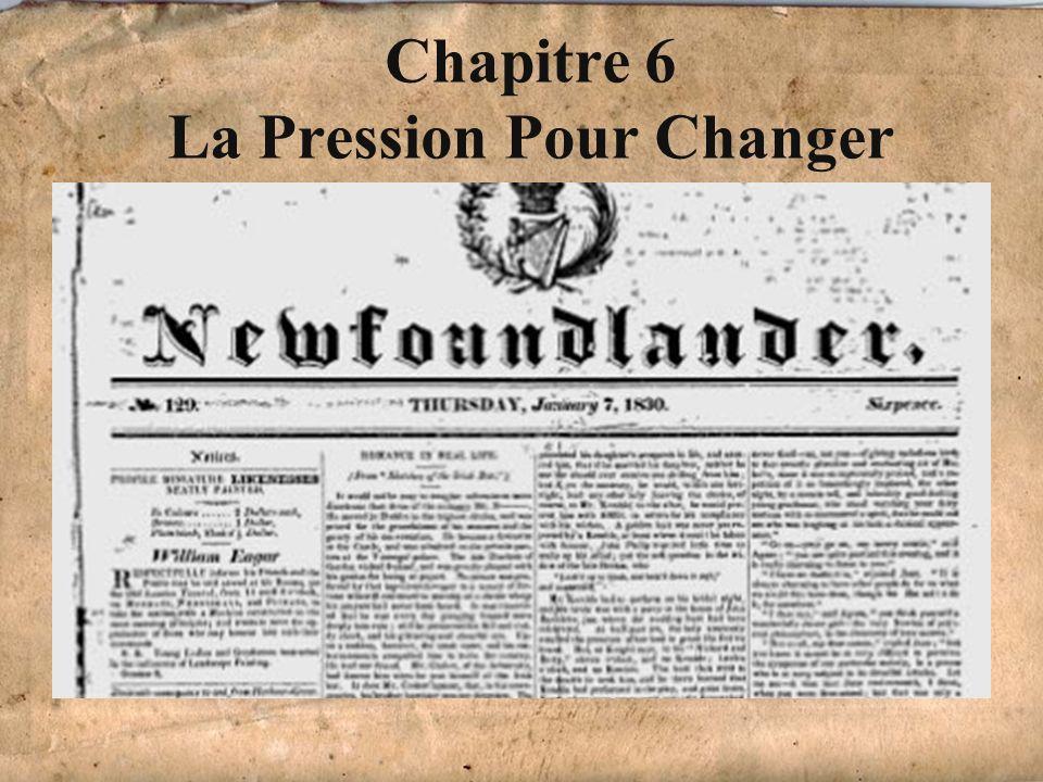 Chapitre 6 La Pression Pour Changer