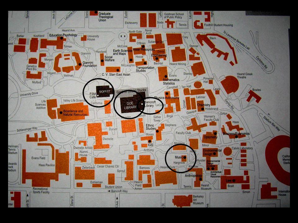 Université de Stanford Fondée en 1891 Grande rivale de Berkeley De nombreux prix Nobel Bu principale : Cecil Howard Green Library Date de 1910, car destruction par tremblement de terre