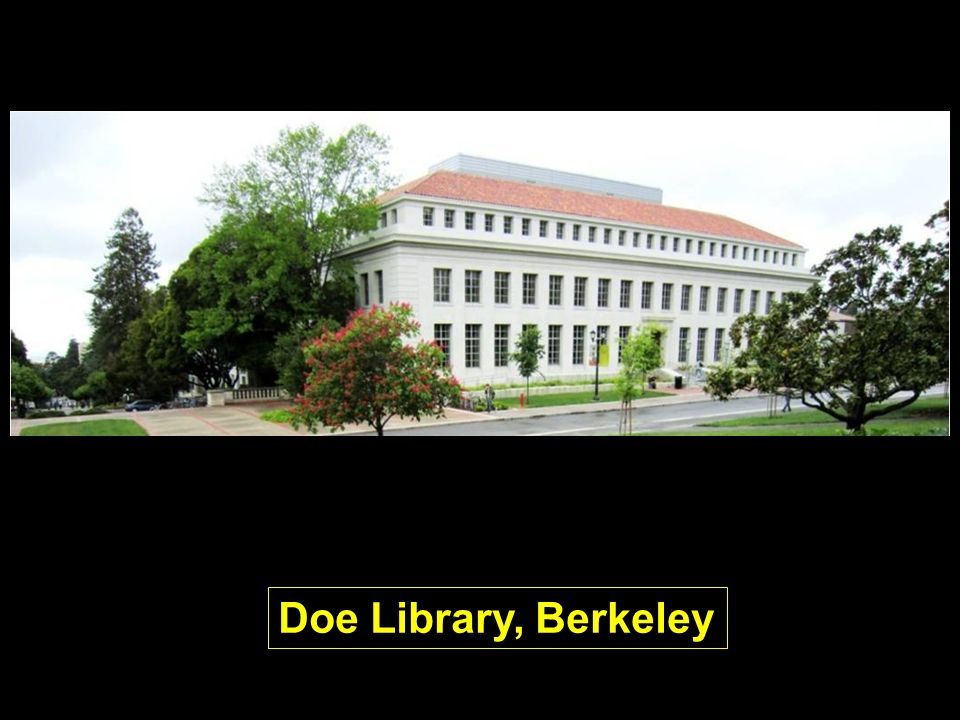 Doe Library, Berkeley