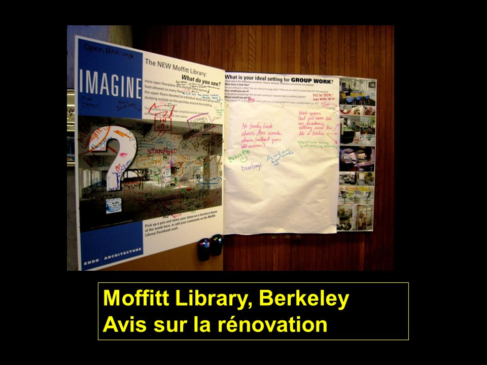 Moffitt Library, Berkeley Avis sur la rénovation
