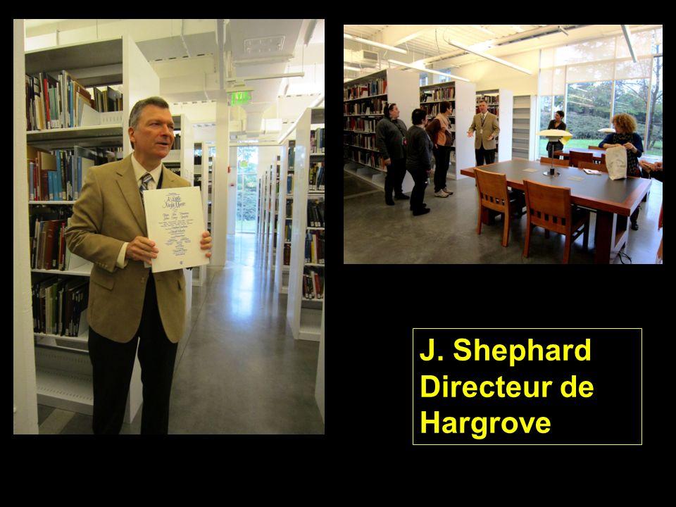 J. Shephard Directeur de Hargrove