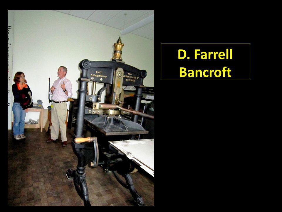 D. Farrell Bancroft