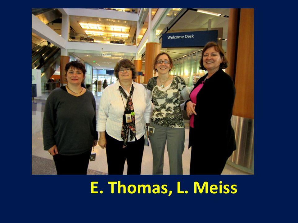 E. Thomas, L. Meiss