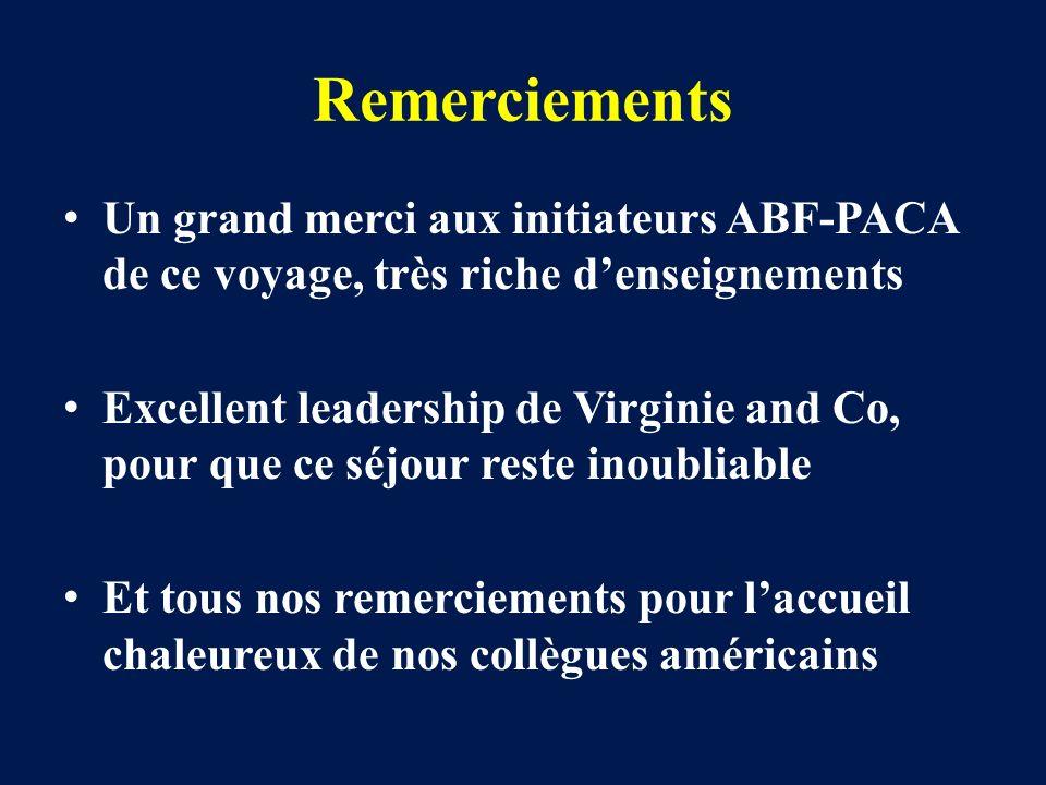 Remerciements Un grand merci aux initiateurs ABF-PACA de ce voyage, très riche denseignements Excellent leadership de Virginie and Co, pour que ce séj