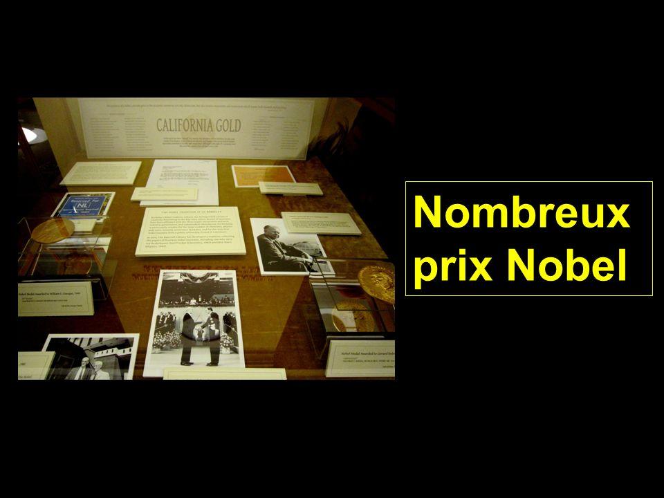 Nombreux prix Nobel