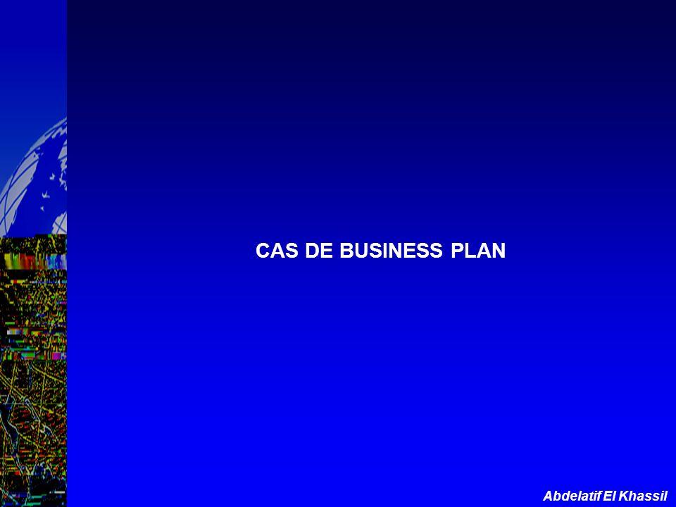 Abdelatif El Khassil CAS DE BUSINESS PLAN