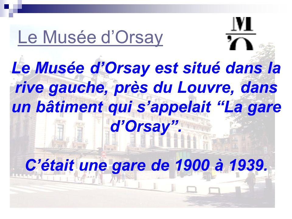 Le Musée dOrsay