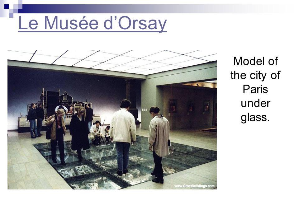 Le Musée dOrsay Water Lillies de Claude Monet, 1889 Si tu voudrais voir plus de tableaux qui sont au musée dOrsay, clique ici.clique ici