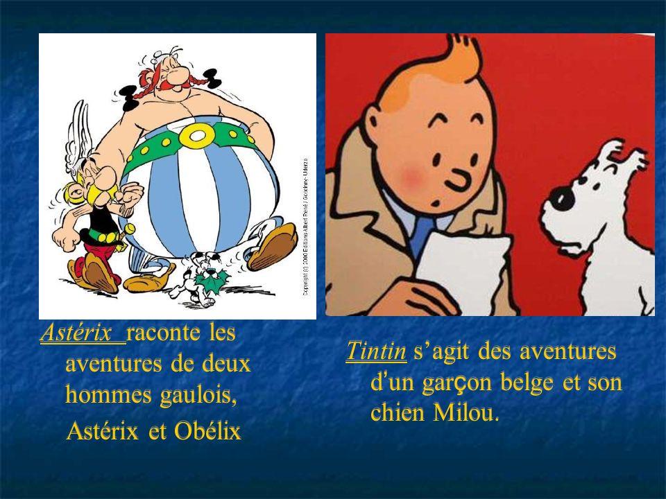 Astérix raconte les aventures de deux hommes gaulois, Astérix et Obélix Astérix raconte les aventures de deux hommes gaulois, Astérix et Obélix Astéri