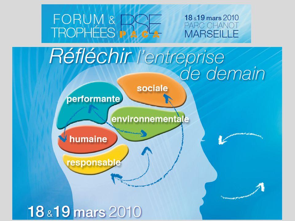 Bilan carbone® du Forum et des Trophées RSE PACA 18 & 19 mars 2010 Parc Chanot - Marseille