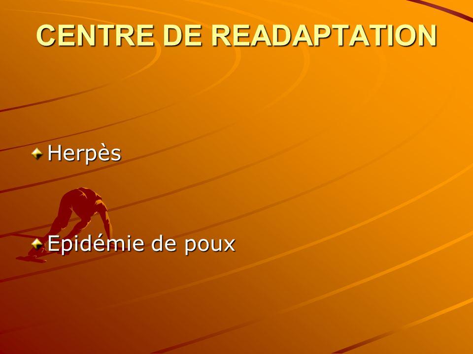 CENTRE DE READAPTATION Rôle infirmier pour les patients pour les patients pour les professionnels.