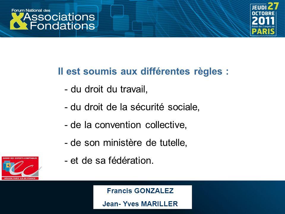 DROIT DU TRAVAIL Il organise les relations entre les salariés et les employeurs avec en « toile de fonds » un principe : la protection du salarié Francis GONZALEZ Jean- Yves MARILLER