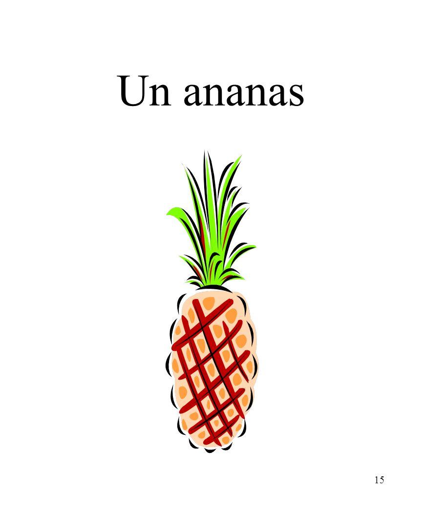 15 Un ananas
