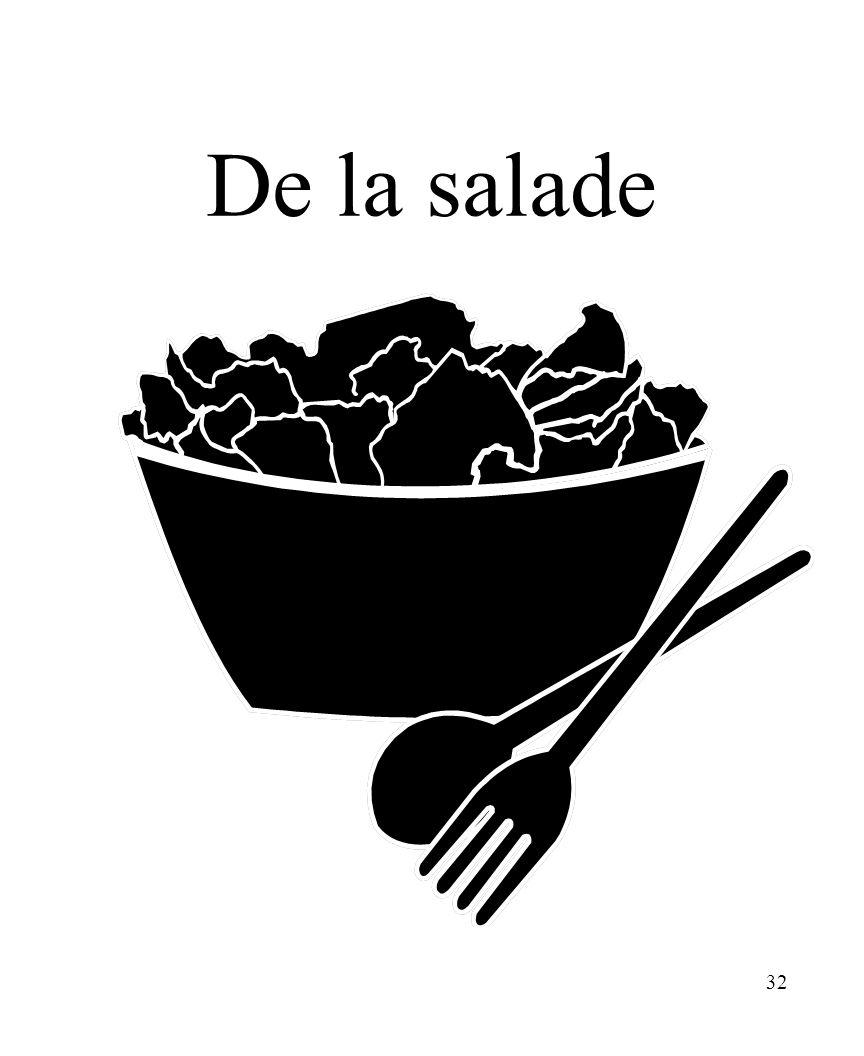 32 De la salade