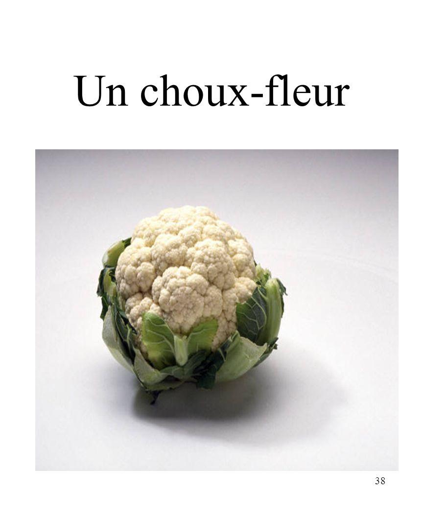 38 Un choux-fleur