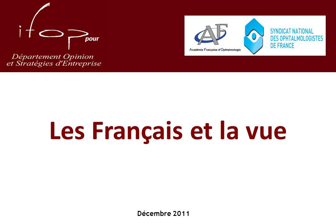 Les Français et la vue Décembre 2011 pour