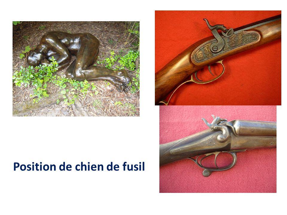 Position de chien de fusil