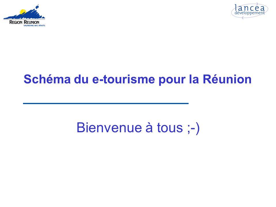 Schéma du e-tourisme pour la Réunion Bienvenue à tous ;-)