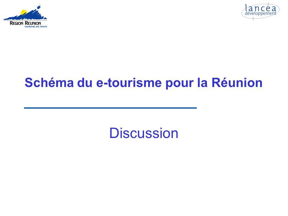 Schéma du e-tourisme pour la Réunion Discussion