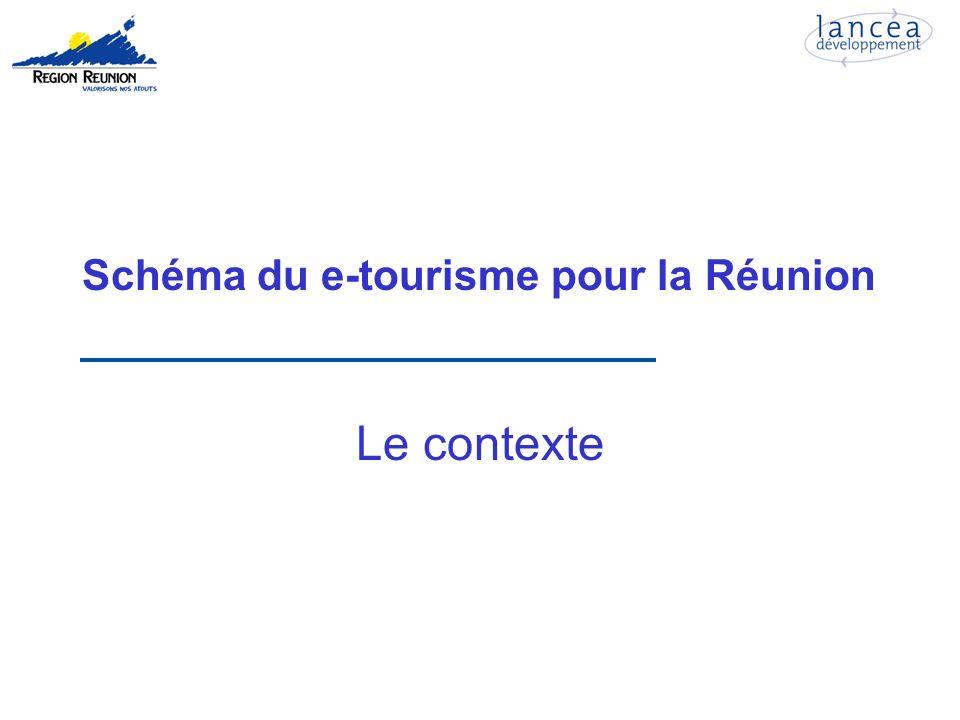 Schéma du e-tourisme pour la Réunion Le contexte