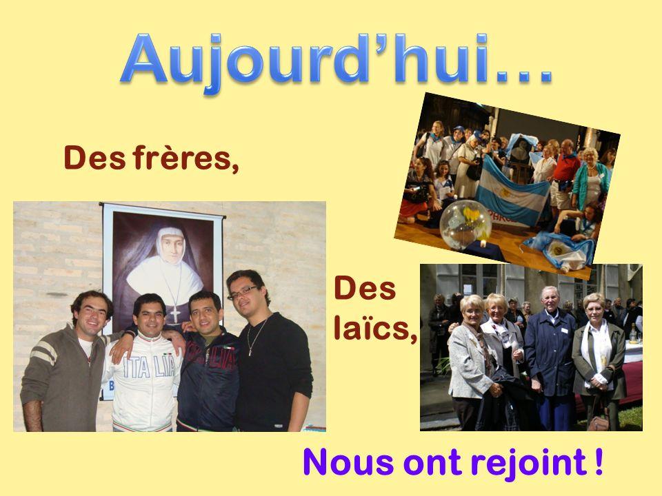 Des frères, Des laïcs, Nous ont rejoint !