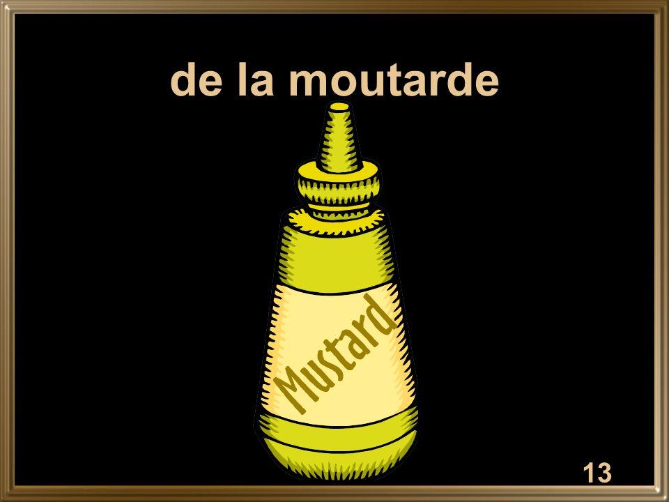 13 de la moutarde