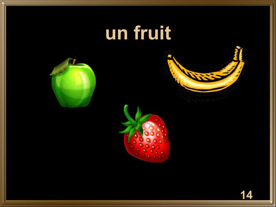 14 un fruit