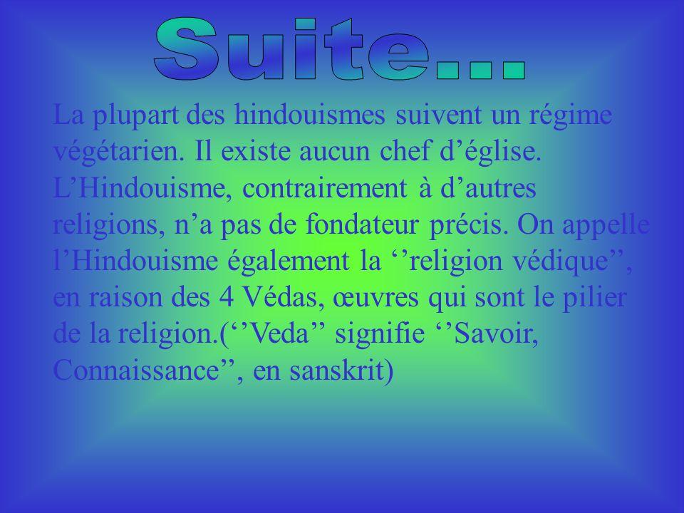 Lhindouisme est une religion surtout pratiqué en Inde, 80% des Hindous sont des pratiquants de cette religion. Plus de 700 millions adeptes dans le mo