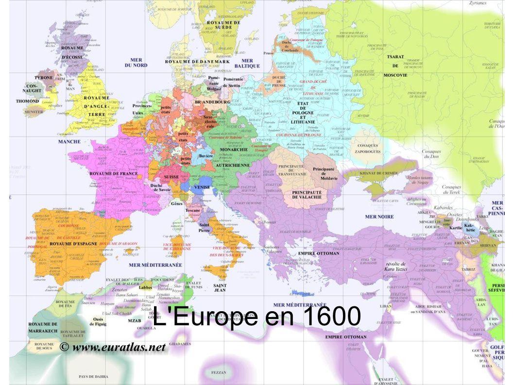 L Europe en 1700