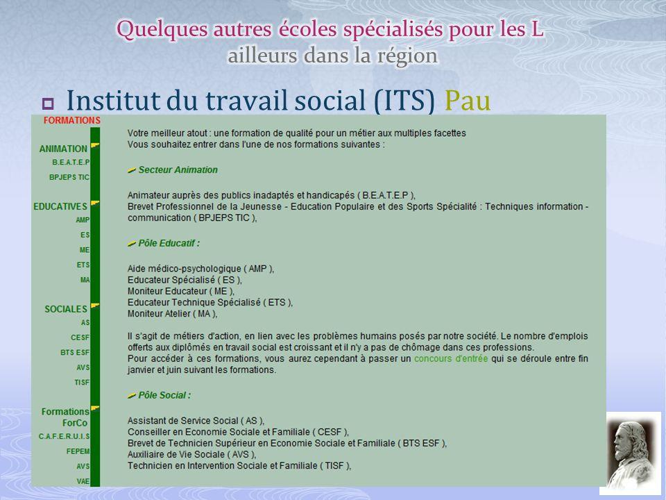 Institut du travail social (ITS) Pau