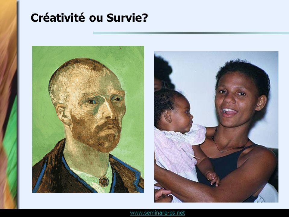 www.seminare-ps.net Créativité ou Survie?