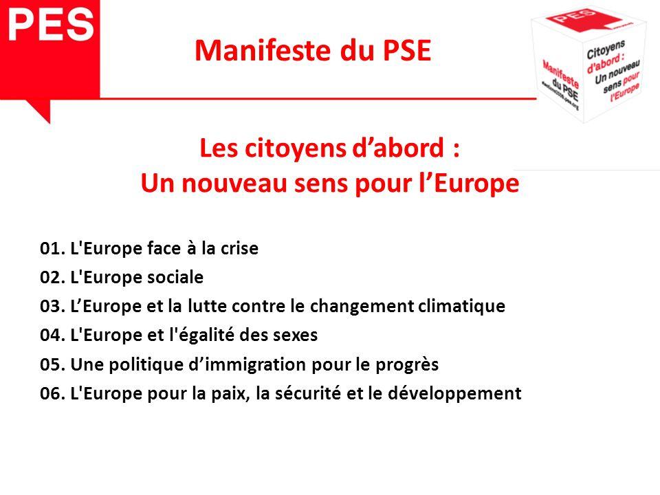 Les citoyens dabord : Un nouveau sens pour lEurope 01.