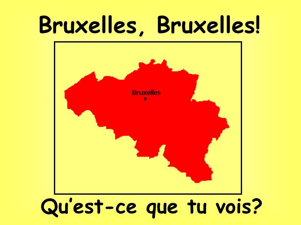 Le Cinquantenaire Un tram Quartier du parlement européen. Toujours Bruxelles…