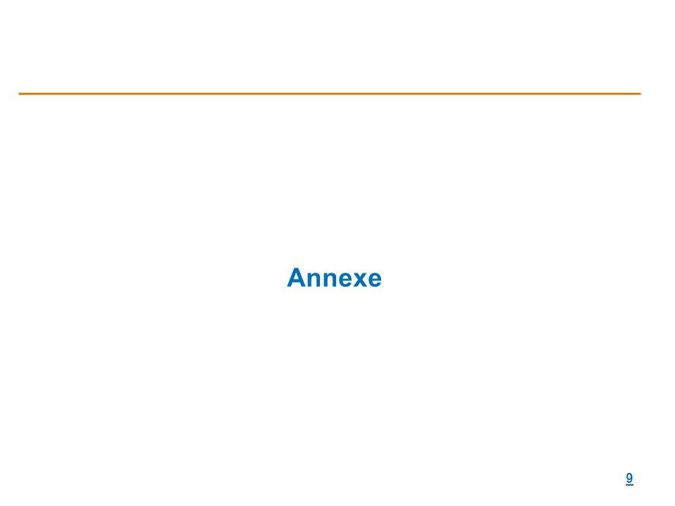 9 Annexe