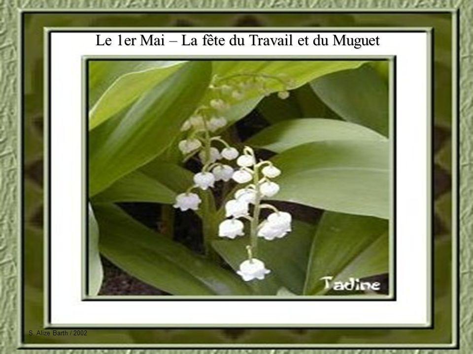 S. Alize Barth / 2002 Le 1er Mai – La fête du Travail et du Muguet S. Alize Barth / 2002