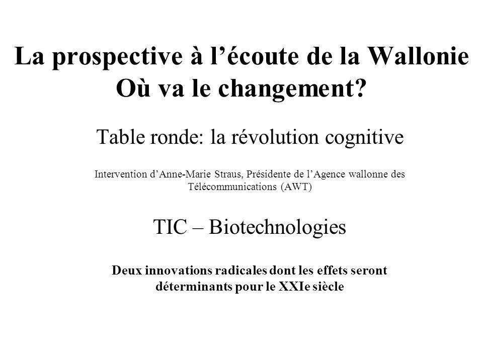 Les TIC et la biologie moléculaire sont deux innovations radicales dont les effets seront déterminants pour le XXIe siècle dans la mesure où elles sont universelles, évolutives et en expansion au niveau mondial