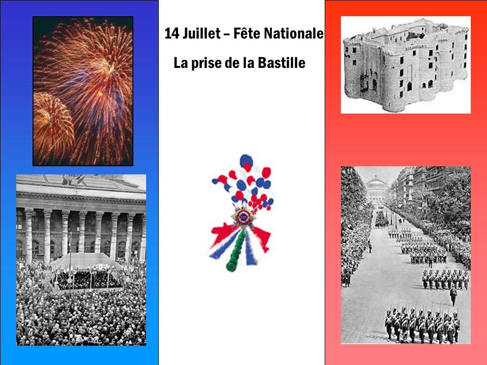 S. Alize Barth 2002 14 Juillet – Fête Nationale La prise de la Bastille