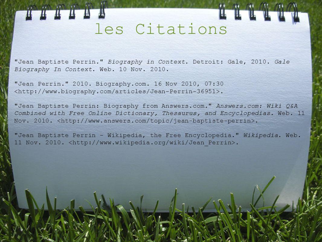 les Citations