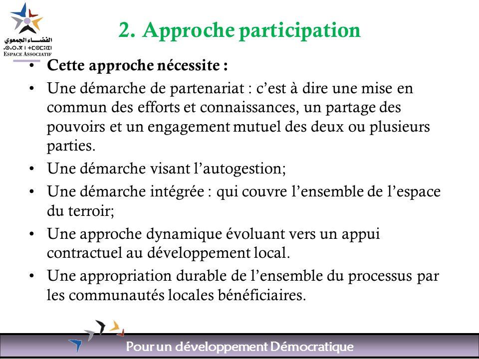 Pour un développement Démocratique 2.