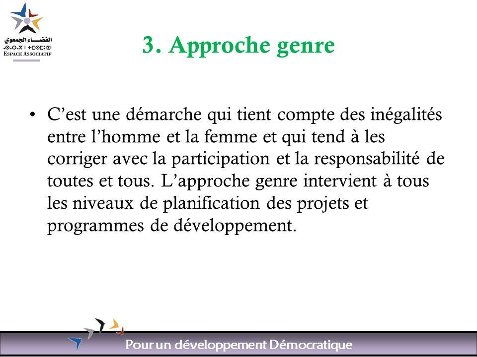 Pour un développement Démocratique 3.