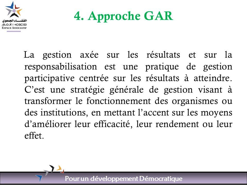 Pour un développement Démocratique 4.