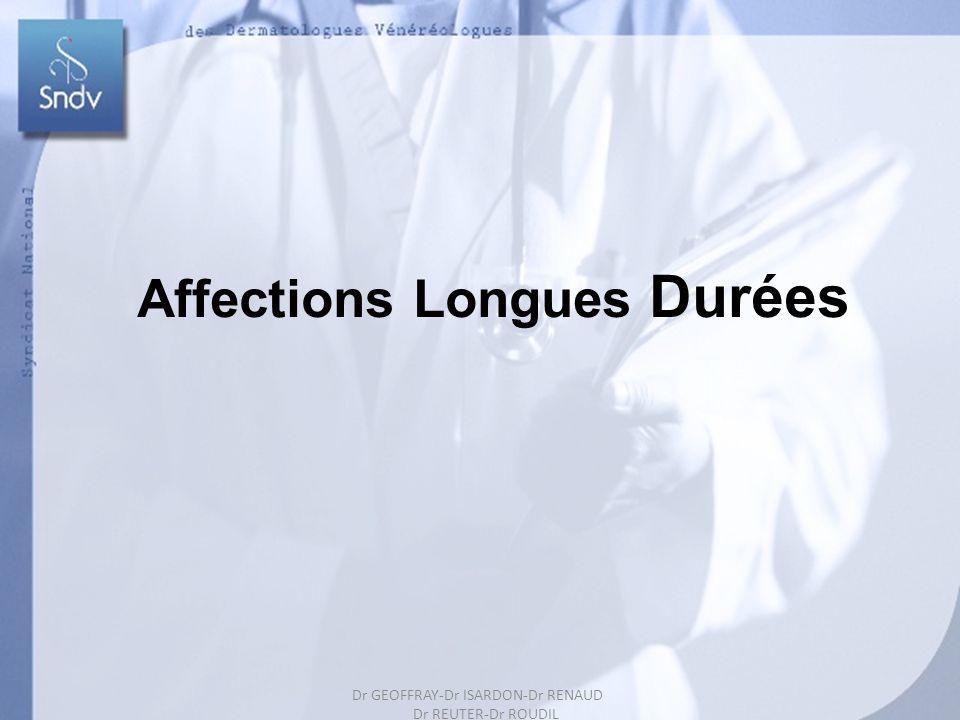 181 Affections Longues Durées Dr GEOFFRAY-Dr ISARDON-Dr RENAUD Dr REUTER-Dr ROUDIL