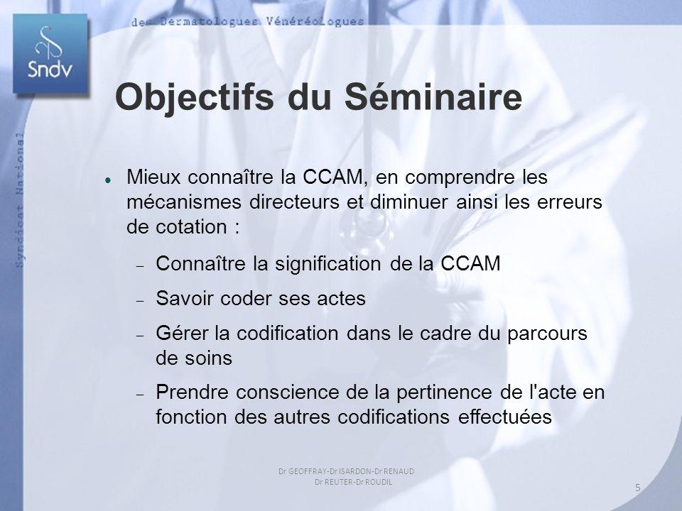 Aperçu de lutilisation de libellés chirurgicaux Objectifs du Séminaire Mieux connaître la CCAM, en comprendre les mécanismes directeurs et diminuer ai