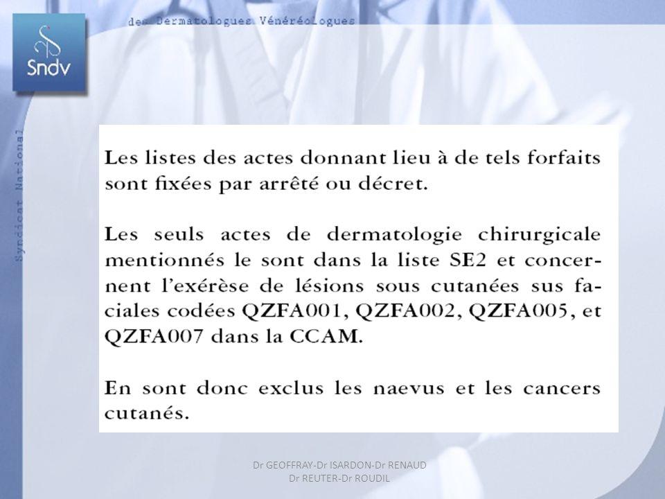 61 Dr GEOFFRAY-Dr ISARDON-Dr RENAUD Dr REUTER-Dr ROUDIL