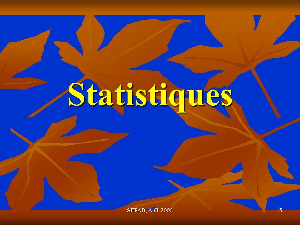 5 Statistiques